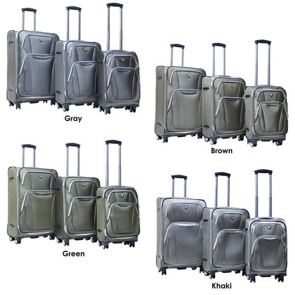 Calpak Dawson 3-piece Lightweight Expandable Spinner Luggage Set