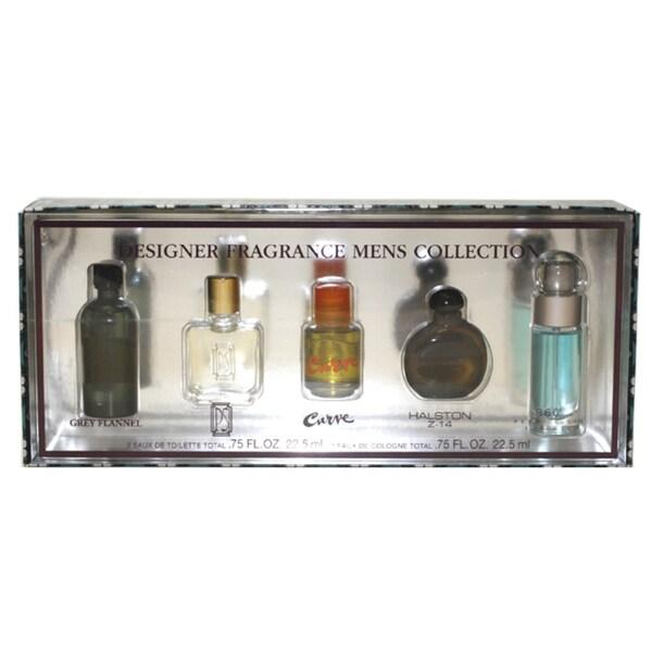 Designer Fragrance Collection Men's 5-piece Gift Set