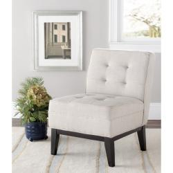 Safavieh Gramercy Beige Armless Club Chair