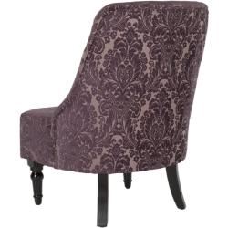 Safavieh Gramercy Indigo Floral Motif Armless Club Chair