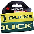 Oregon Ducks Rubber Wrist Band (Set of 2) NCAA