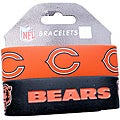 Chicago Bears Wrist Band (Set of 2) NFL