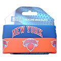 New York Knicks Rubber Wrist Bands (Set of 2) NBA