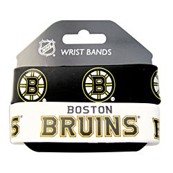 Boston Bruins Rubber Wrist Band (Set of 2) NHL