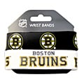 Boston Bruins Rubber Wrist Band (Set of 2) NHL