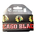 Chicago Blackhawks Rubber Wrist Band (Set of 2) NHL