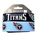 Tennessee Titans Rubber Wrist Band (Set of 2) NFL