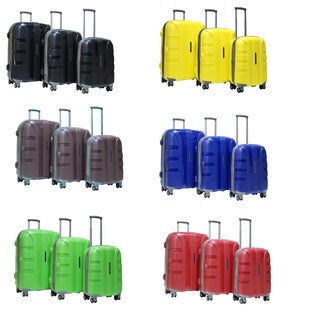 Calpak Rapture 3-piece Lightweight Polypropylene Hardside Spinner Luggage Set