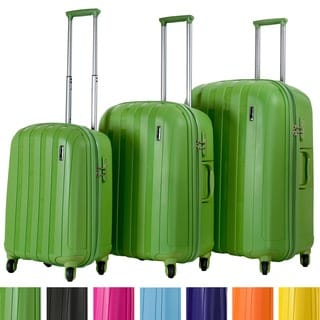 Calpak Paradise 3-piece Lightweight Polypropylene Hardside Luggage Set
