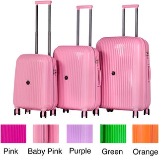 Calpak Euphoria 3-piece Lightweight Polypropylene Hardside Spinner Luggage Set