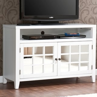 Upton Home Chapman White TV/ Media Stand