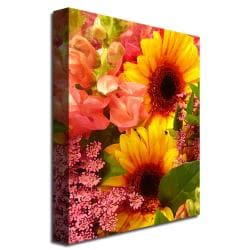 Amy Vangsgard 'Spring Bouquet' Canvas Art