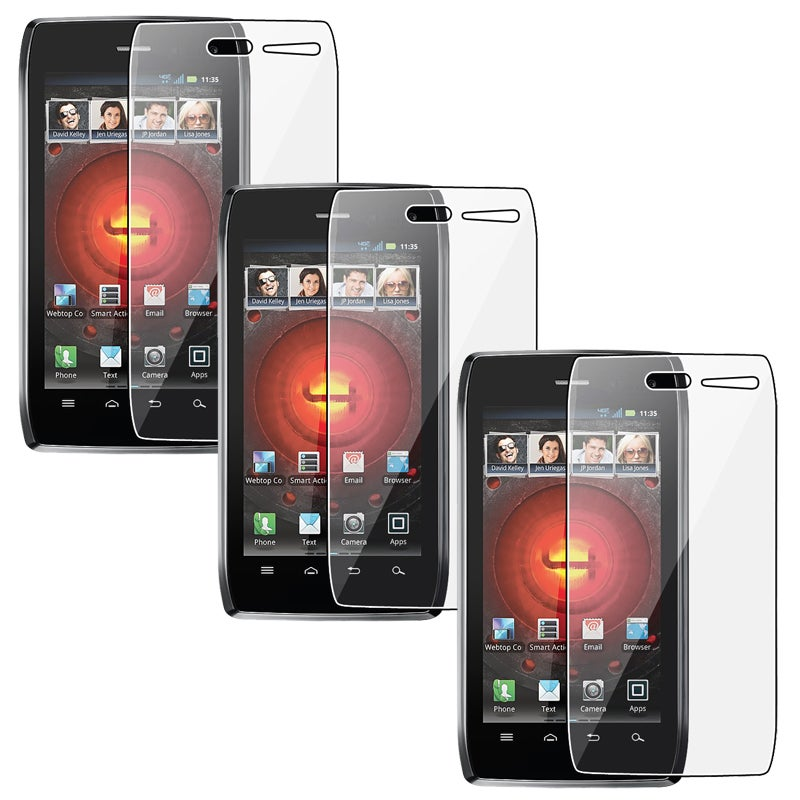 INSTEN LCD Screen Protector for Motorola Droid 4/ 4G