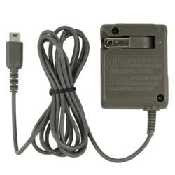 BasAcc Gray Travel Charger for Nintendo DS Lite