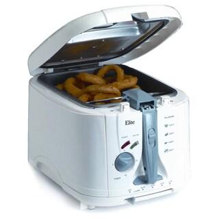Maxi Matic White 5-quart Cool Touch Deep Fryer