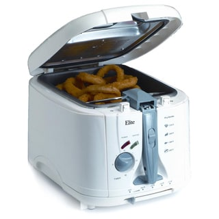 Maxi Matic White 5-quart Cool Touch Deep Fryer