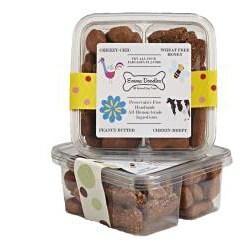 Emma Doodles All-natural Peanut Butter Dog Treats Sampler Box