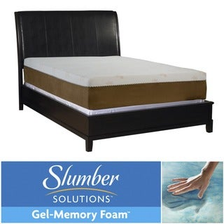 Slumber Solutions Gel Memory Foam 12-inch Queen-size Mattress