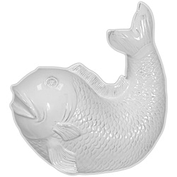 Ceramic Fish White Small