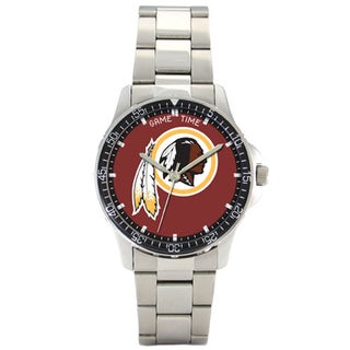 Men's Stainless Steel Washington Redskins Coach Watch