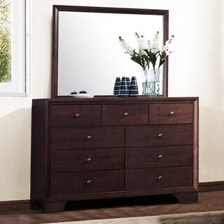 TRIBECCA HOME Louisburgh Dresser and Mirror Set