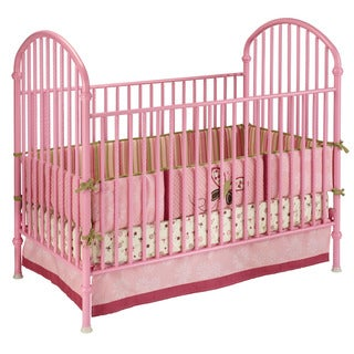 Delta Pink Metal Crib