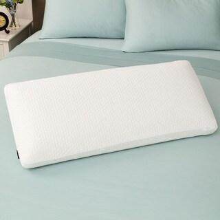 SwissLux Euro Style Luxury King-size Memory Foam Pillow - White