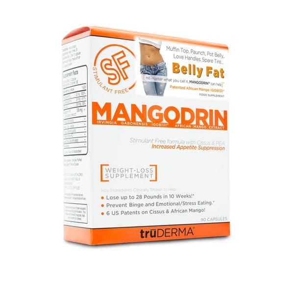 truDERMA Mangodrin Stimulant Free (90 Capsules)
