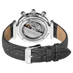 Akribos XXIV Women's Classique Diamond Automatic Fashion Strap Watch