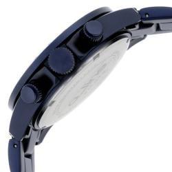 a_line Women's 'Amore' Navy Blue Aluminum Watch