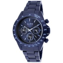 a_line Women's 'Amore' Navy Blue Aluminum Watch