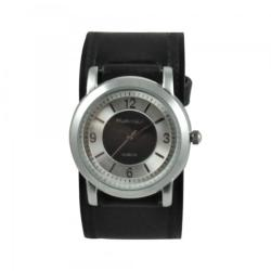 Nemesis Women's Retro Dual-tone Leather Strap Watch