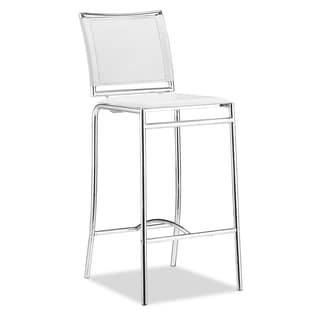Soar White Bar Chair (Set of 2)