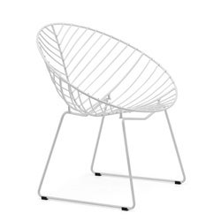 Whitworth White Dining Chair (Set of 2)