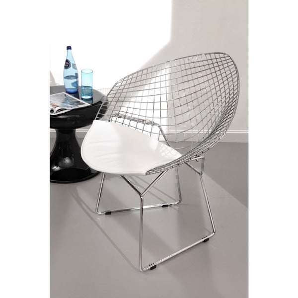 Net White Dining Chair (Set of 2)