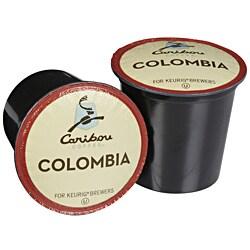 Caribou Coffee Colombia K-Cup Keurig Brewers (Pack of 96)