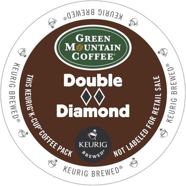 Green Mountain Coffee Double Black Diamond K-Cup for Keurig Brewers (48 count)
