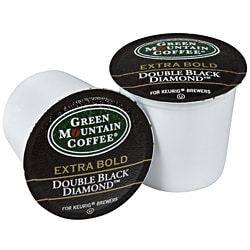 Green Mountain Coffee Double Black Diamond K-Cup for Keurig Brewers (Pack of 96)