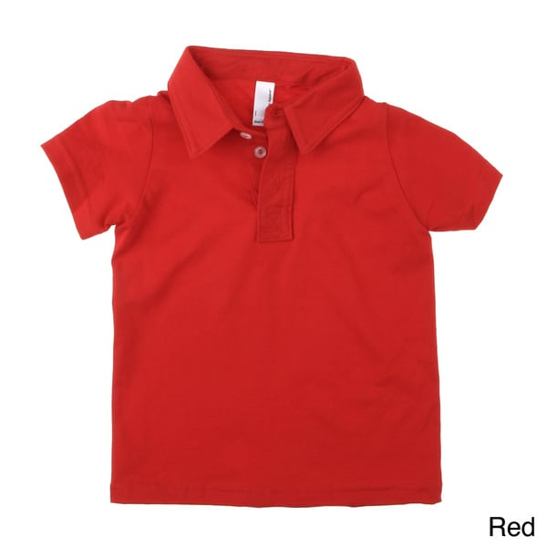 American Apparel Kids' Fine Jersey Leisure Polo Shirt