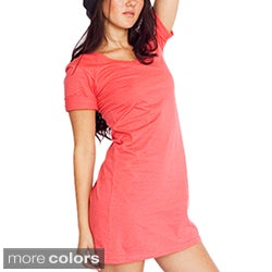 American Apparel Women's Organic Jersey T-shirt Dress