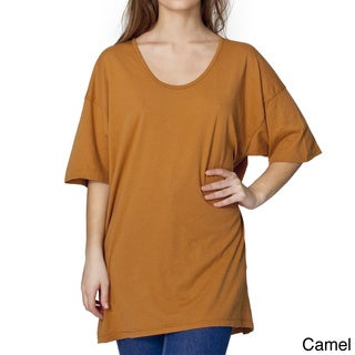American Apparel Unisex 'Le New' Big Tee