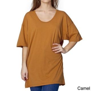 American Apparel Unisex 'Le New' Oversized Tee