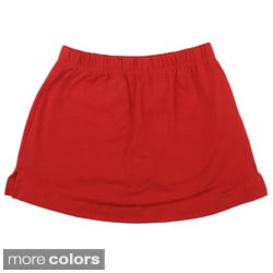 American Apparel Kids' Cotton Spandex Jersey Skort