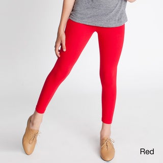 American Apparel Girls' Cotton Spandex Jersey Leggings