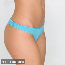 American Apparel Women's Cotton Spandex Jersey Invisi-Thong