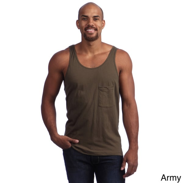 American Apparel Unisex Oversized Pocket Tank