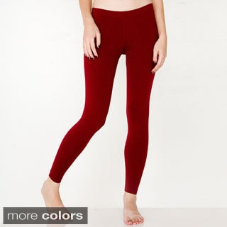 American Apparel Women's Tapered Mid-calf Leggings