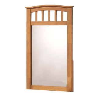 Maple Finish San Marino Mirror