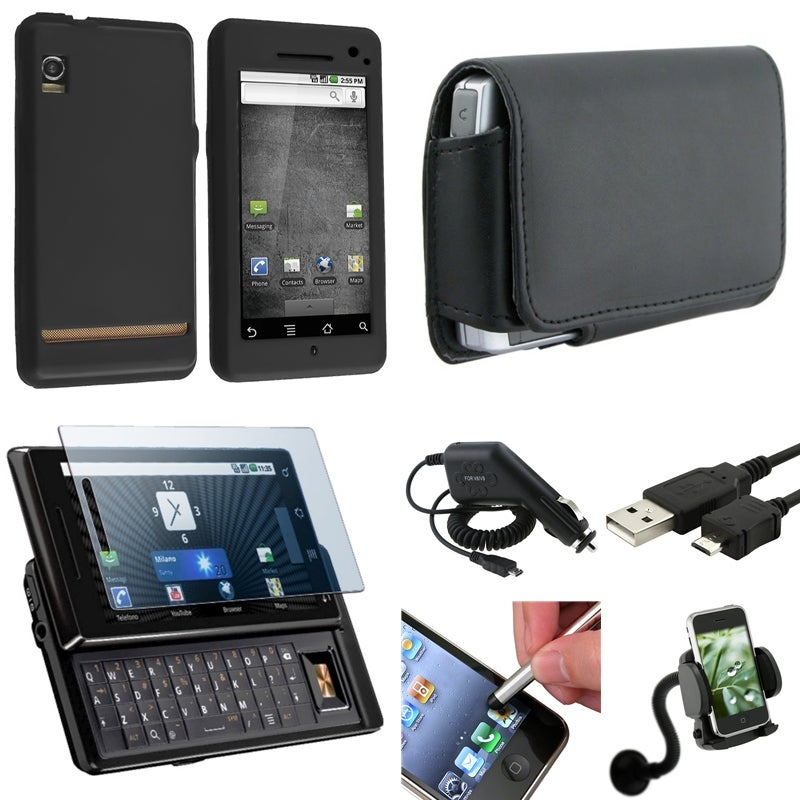 Cases/ Charger/ Protector/ Holder/ Cable for Motorola Droid A855