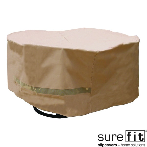 Sure Fit Deluxe Round Table/ Chair Set Cover
